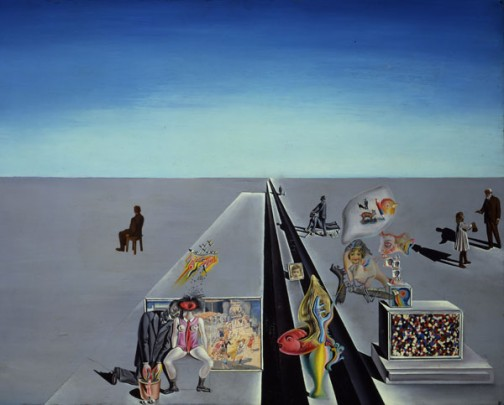 Sigmund Freud highly influenced Dalí's work with ideas of dreams and the subconscious revealing reality