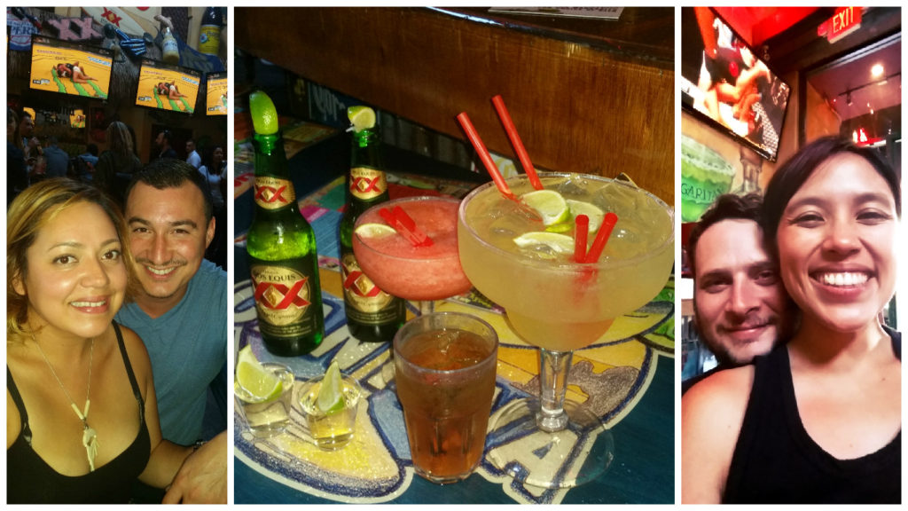 UFC at Cabo with the cousins. Danny/Ivie - I thought we took more pics! Please send some to me if you have any =) P.S. No that is not a rum/coke, that is a full cup of whiskey.
